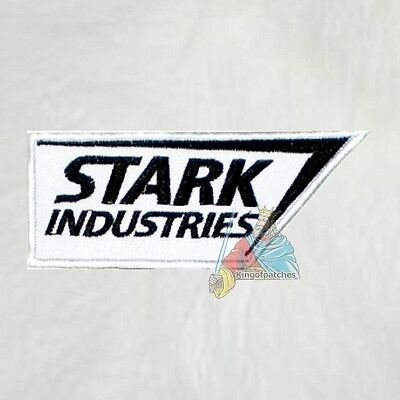 45a20ddb Stark Industries Logo Embroidered Patch Marvel Comics Tony Iron Man The  Avengers