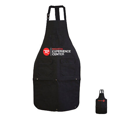 Rossignol Ski Snowboard Tuning and Repair Shop Apron with Plastic Buckle Clips