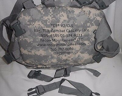 Recon Mountaineer Tc3 V1 Tactical Combat Casualty Care Bag Acu Pattern Empty