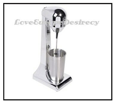 Greek NESCAFE FRAPPE Silver Mixer Maker Electric Milk/Coffee Frother EU Seller