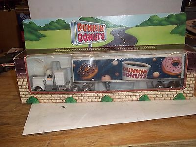 1995 Donkin Donuts Tractor Trailer Fits O And 027 Train Layouts  Nib