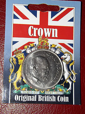 Elizabeth II Churchill Crown Coin In Sealed Pack