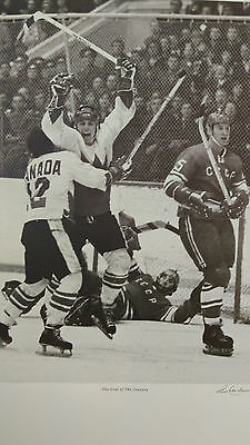 Frank Lennon The Goal of the Century Lihtograph 1972 Summit Series  Henderson