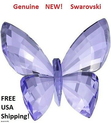 Swarovski Crystal Butterfly, Provence Lavender  #1182454 Brand New in Gift Box!