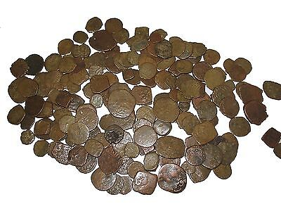 Ancient Medieval Islamic 50g unsorted hoard coins lower grade still nice fals