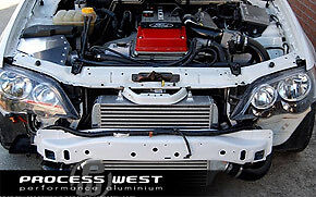 NEW PROCESS WEST Ford BA / BF XR6T Intercooler Kit - STG3 from Torqueline Garage