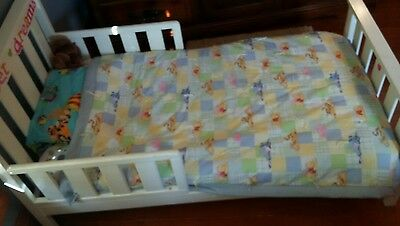 New handmade Winnie-the-Pooh Baby comforter/tied quilt for toddler bed or crib