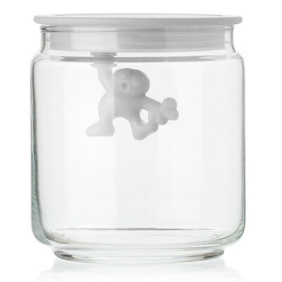 NEW Alessi Gianni Small Jar with White Lid