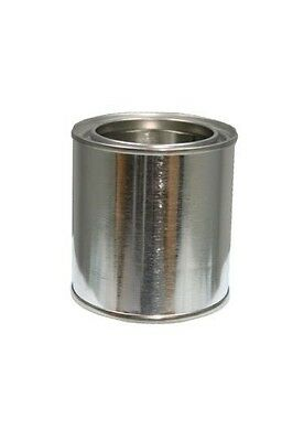 Can, Metal, Round, 1/2 Pint