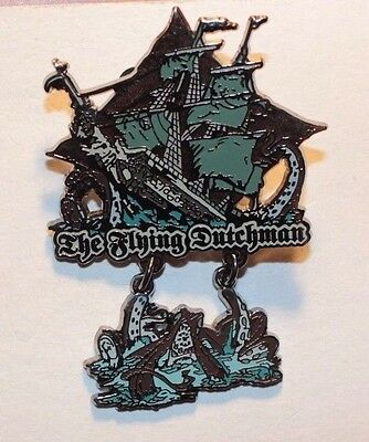 Disney Parks Pirates Of The Caribbean The Flying Dutchman Dangle Pin
