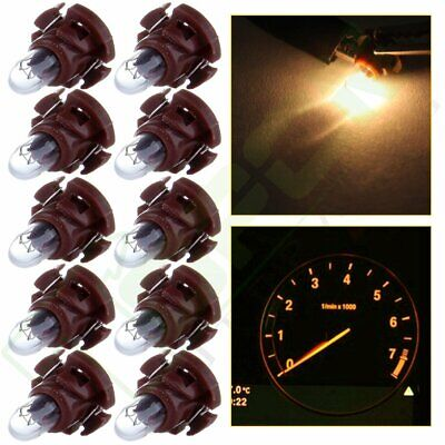 10X T4.2/T4 Neo Wedge Warm White Dash A/C Heater Climate Control Base Light Bulb
