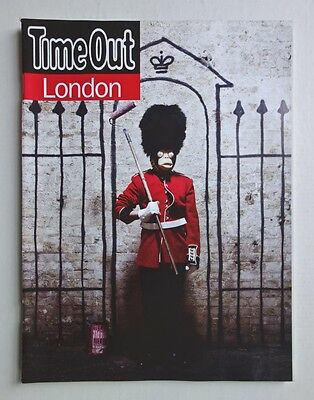 Time Out London Magazine Banksy Cover Interview Special Edition Mint Not Signed