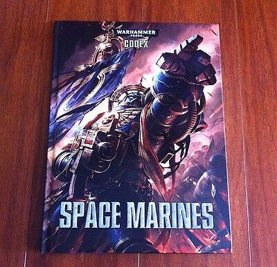 Warhammer 40,000 Space Marines Codex 6th Edition - Hardcover - Brand New/Sealed