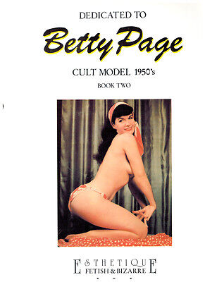 Glamorous Betty Page #1-3 Cult Model 1950's