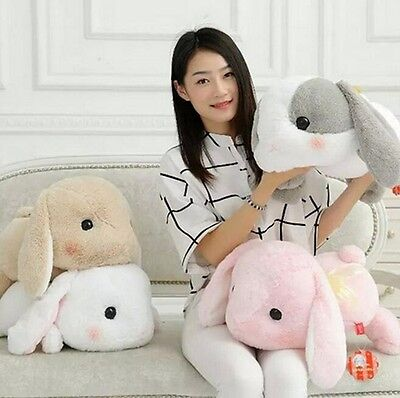 Pote Usa Loppy Lolita Shy Lop Ear Bunny Rabbit Soft Plush Toy Doll XMAS Gift