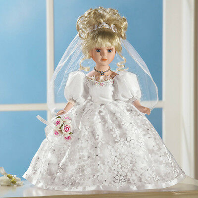 Beverly Bride Collectible Porcelain Doll