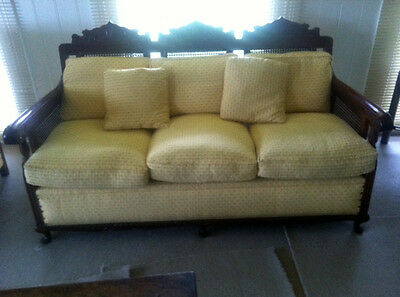 Antique 3 Piece Jacobean Lounge Suite c.1900s - Fully Restored