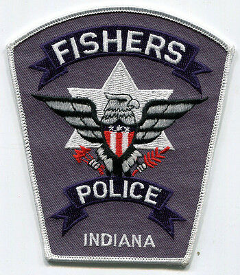 Fishers Indiana Police Patch