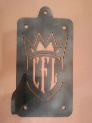 West Coast Choppers CFL License Plate Tag