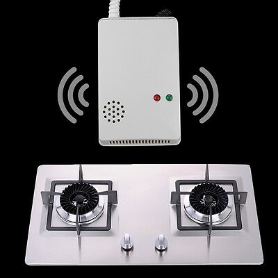 Home Safe Sensor Alarm Natural Gas Propane Butane Methane Leak Detector HR