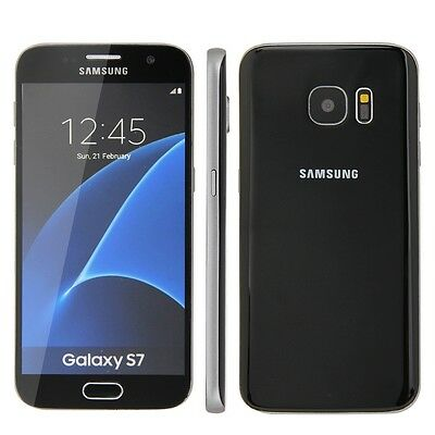 Samsung Galaxy S7 in black Phone DUMMY - NEW - Model Decor Requisite