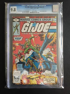 GI JOE #1 CGC 9.8 White Pages