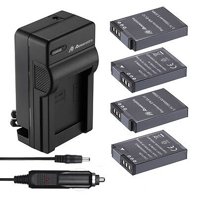 EN-EL12 Battery + Charger for Nikon Coolpix AW100 AW110 P300 S630 S6000 S9900