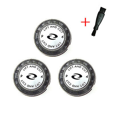 3pcs Shaver Heads Replacement for Philips HQ3 HQ4 HQ55 HQ56 Razor Blades UK