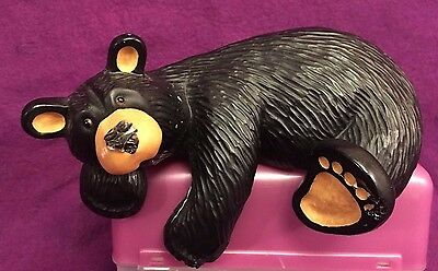 Bear Foots Big Sky Cousin Randy Jeff Fleming Shelf Sitter Black Bear Numbered