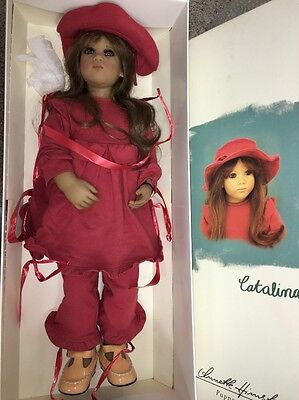 """29"""" Catalina by Annette Himstedt from 1998 w / Box Original Clothing No Pink Eye"""