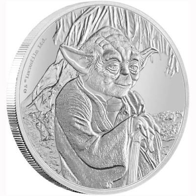 NEW Perth Mint Star Wars Classic - Yoda 2016 1oz Silver Proof Coin