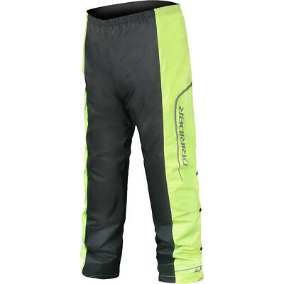 NEW DriRider Thunderwear 2 Wet Weather Waterproof Hi-Vis Fluro Motorcycle Pants