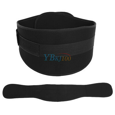 Weight Lifting Belt Gym Waist Support Power Body Training Fitness Tape S/M/L