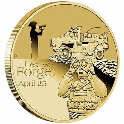 SALE NEW Perth Mint 2016 Anzac Royal Australian Armoured Corps $1 Coin in Card
