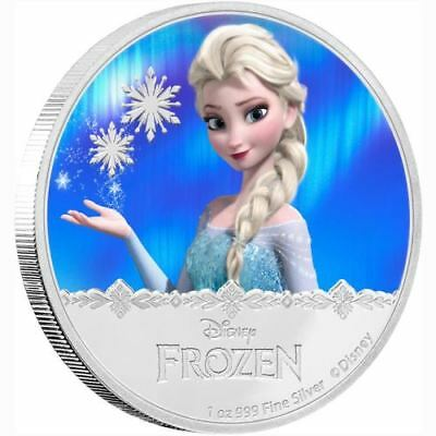 NEW Perth Mint Disney Frozen - Elsa 1oz Silver Proof Coin