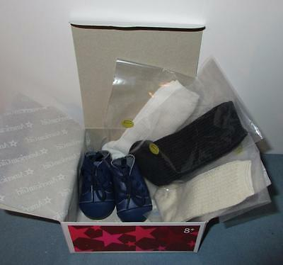 American Girl Addy's Shoes and Socks Set Complete Retired NIB *Free Ship*