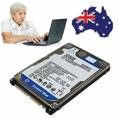 """320GB 2.5"""" 5400 RPM 8MB IDE/PATA Internal HDD Hard Disk Drive for Notebook PC AU"""