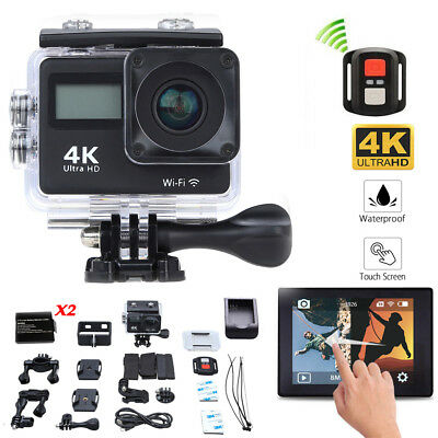 Helmet Camera SJ8000 Plus WiFi Ultra 4K HD Waterproof Action DV + Remote control