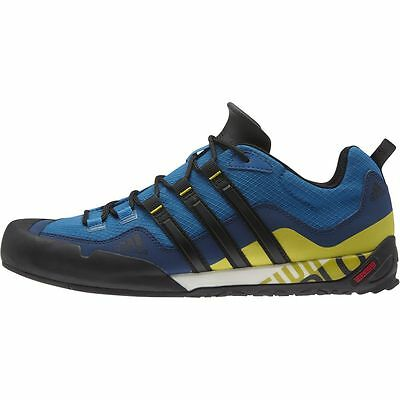 Adidas Outdoor Terrex Swift Solo Approach Shoe - Men's Unity Blue/Black/Unity