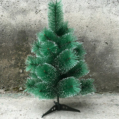2 FT Artificial Tabletop Christmas Pine Tree Green with Multi Color LED Light