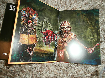 Iron Maiden The Book Of Souls Deluxe Edition 2 Cd And Book . New But Not Sealed