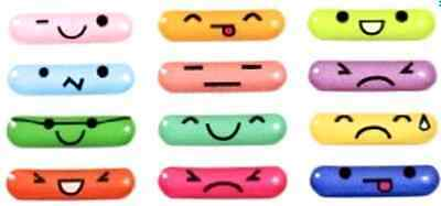 USA seller! 12pcs Home Button Sticker Emoticons for Samsung Galaxy S3 SIII