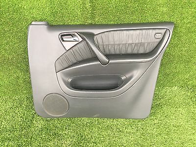 Mercedes W163 Ml - Driver Side Front Right Door Card - Black Leather