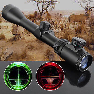 3-9x40 Riflescopes Tactical Air Rifle Optic Spotting Scope For Hunting Fashion H