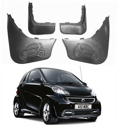 Genuine OEM Splash Guards Mud Guards Mud Flaps For 08-2015 Smart ForTwo 451 W451