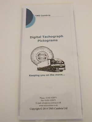 Guide to digital tachograph pictograms,HGV,PSV,PCV, Tachograph product