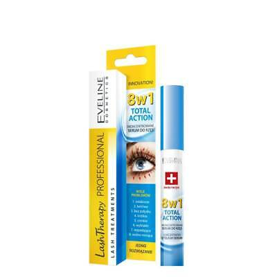 EVELINE 8 IN1 Total Action Professional  Lash Therapy Conditioner Rebuilding