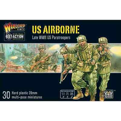 BOLT ACTION: US AIRBORNE - 30 miniature scala 28mm
