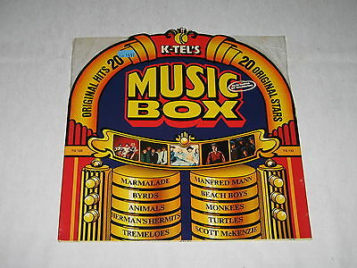 Vinyl LP K-TEL'S MUSIC BOX - Various ~ K-Tel International 1976
