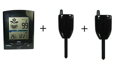 Wireless Soil Moisture Sensor plus Extra Sensor (Total 2 Sensors)